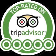 Top Rated on Trip Advisor medallion