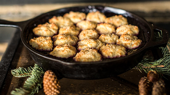 Southern style biscuits.