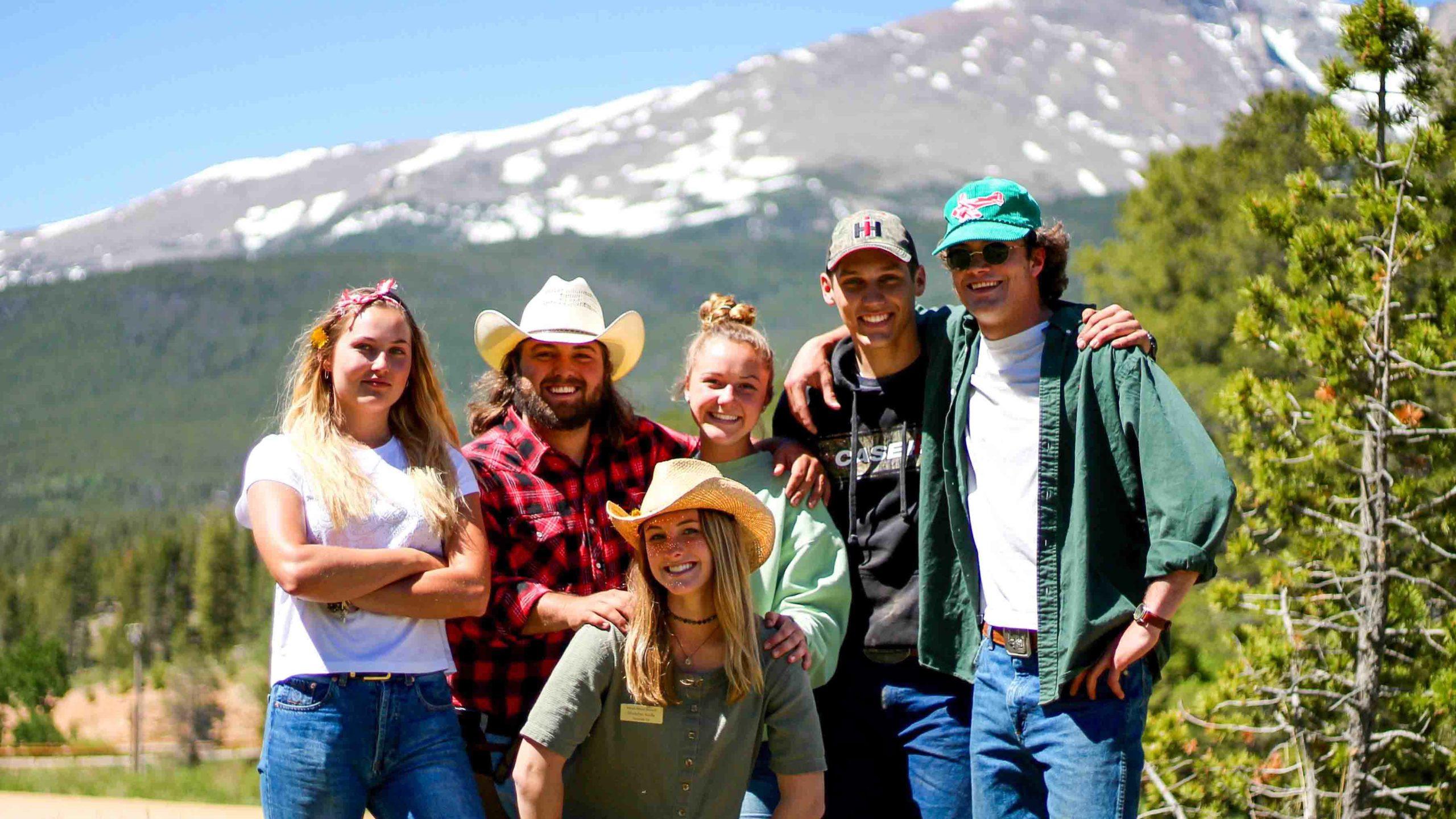 Employee group photo